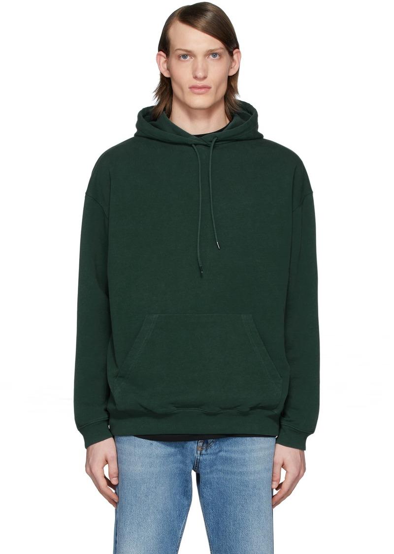 Balenciaga Green Back Logo Hoodie