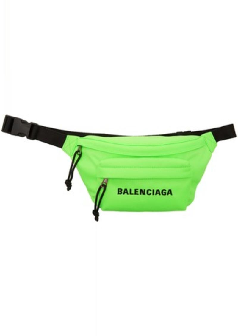 Balenciaga Green Wheel Belt Bag
