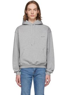 Grey 'Balenciaga®' Hoodie