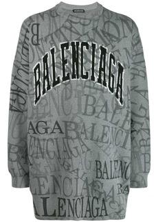 Balenciaga Greyscale sweater