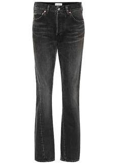 Balenciaga High-rise cotton jeans