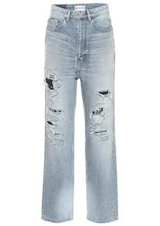 Balenciaga High-rise straight jeans