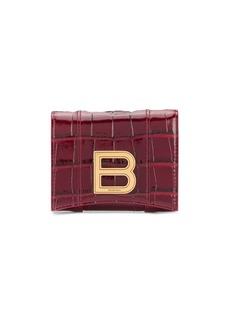 Balenciaga Hourglass compact wallet