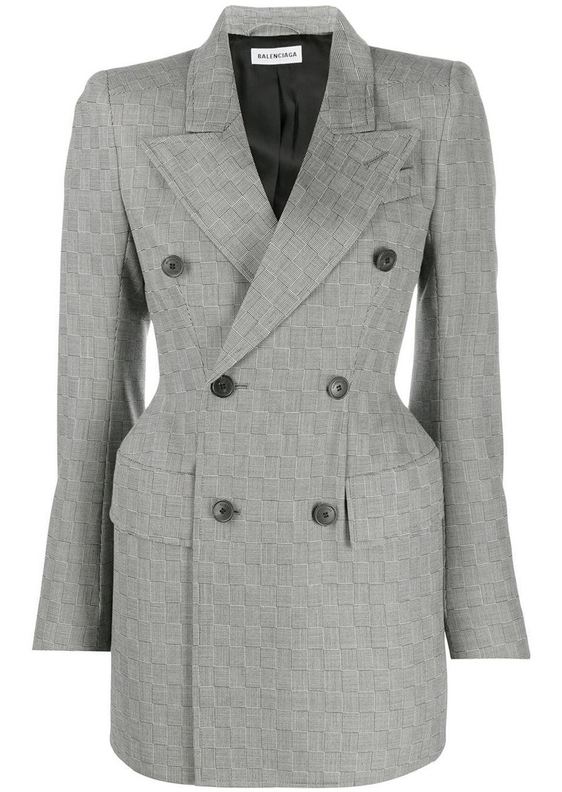 Balenciaga hourglass tailored blazer