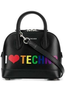 Balenciaga I Love Techno Ville XXS bag