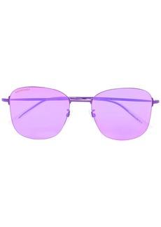 Balenciaga invisible square sunglasses