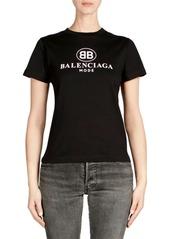 Balenciaga Jersey Logo Tee