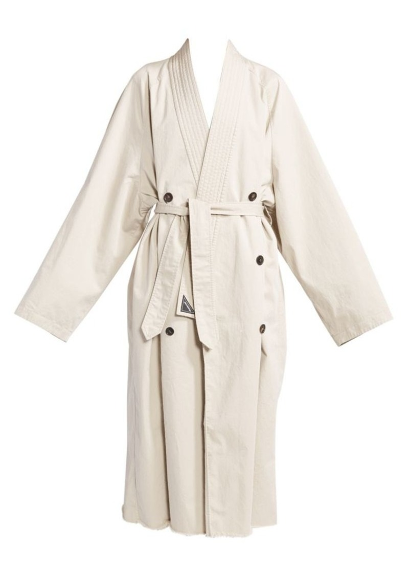 Balenciaga Judo Trench Coat