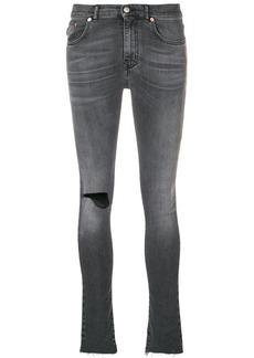 Balenciaga knee hole skinny jeans