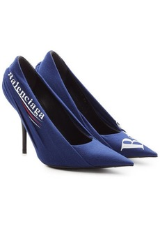 Balenciaga Knife Logo Printed Pumps