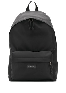 Balenciaga large double backpack