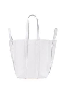 Balenciaga Laundry Cabas 4-Strap Leather Tote Bag