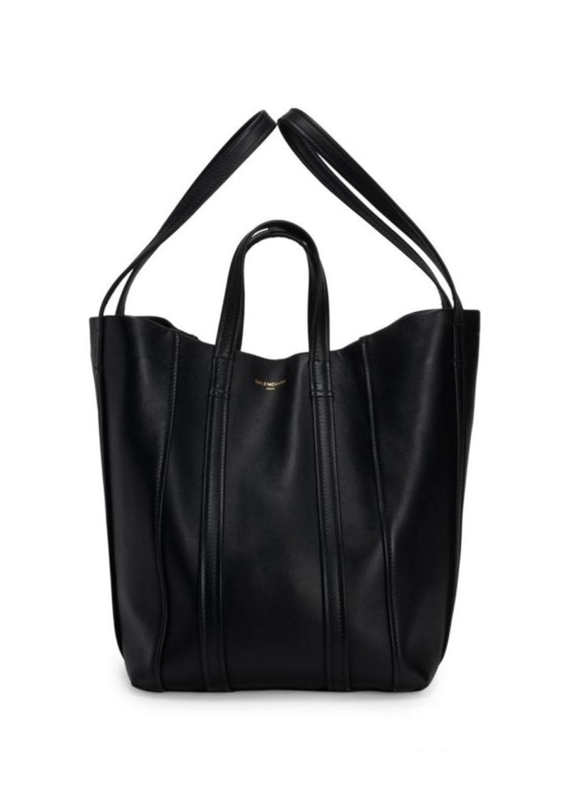 Balenciaga Laundry Cabas Large Leather Bag