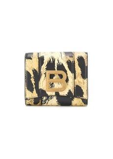 Balenciaga leopard print wallet