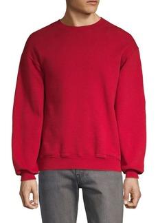 Balenciaga Logo Back Crewneck Sweatshirt