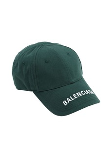 Balenciaga Logo Cotton Baseball Hat