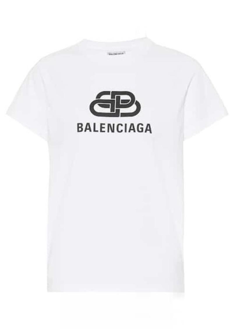 Balenciaga Logo cotton T-shirt