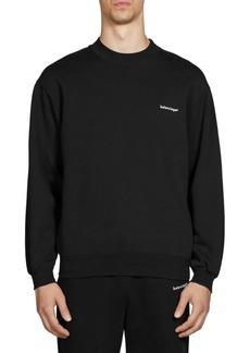 Balenciaga Logo Crewneck Sweatshirt