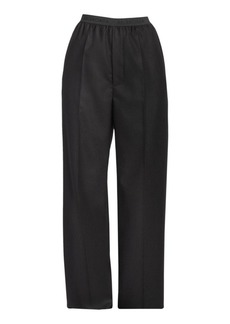 Balenciaga Logo Elastic Trousers