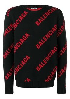 Balenciaga logo jumper
