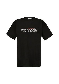 Balenciaga Logo print medium fit t-shirt