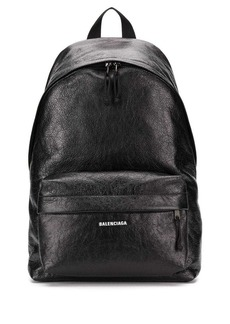 Balenciaga logo printed backpack