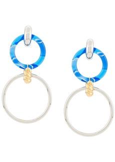 Balenciaga loop and hoop earrings