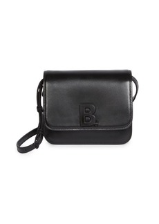Balenciaga Medium B Leather Crossbody Bag