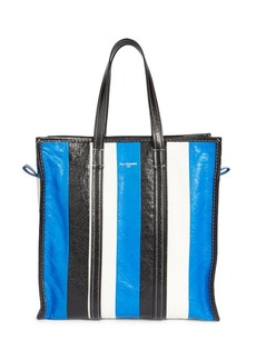 Balenciaga Medium Bazar Stripe Shopper