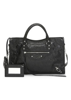 Balenciaga Medium Classic City Leather Satchel