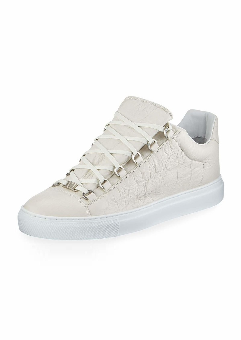 Balenciaga Men s Arena Leather Low-Top Sneakers  468a1407e