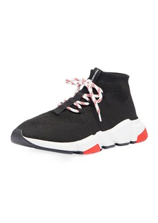 Balenciaga Men's Speed Lace-Up Mesh Sneakers