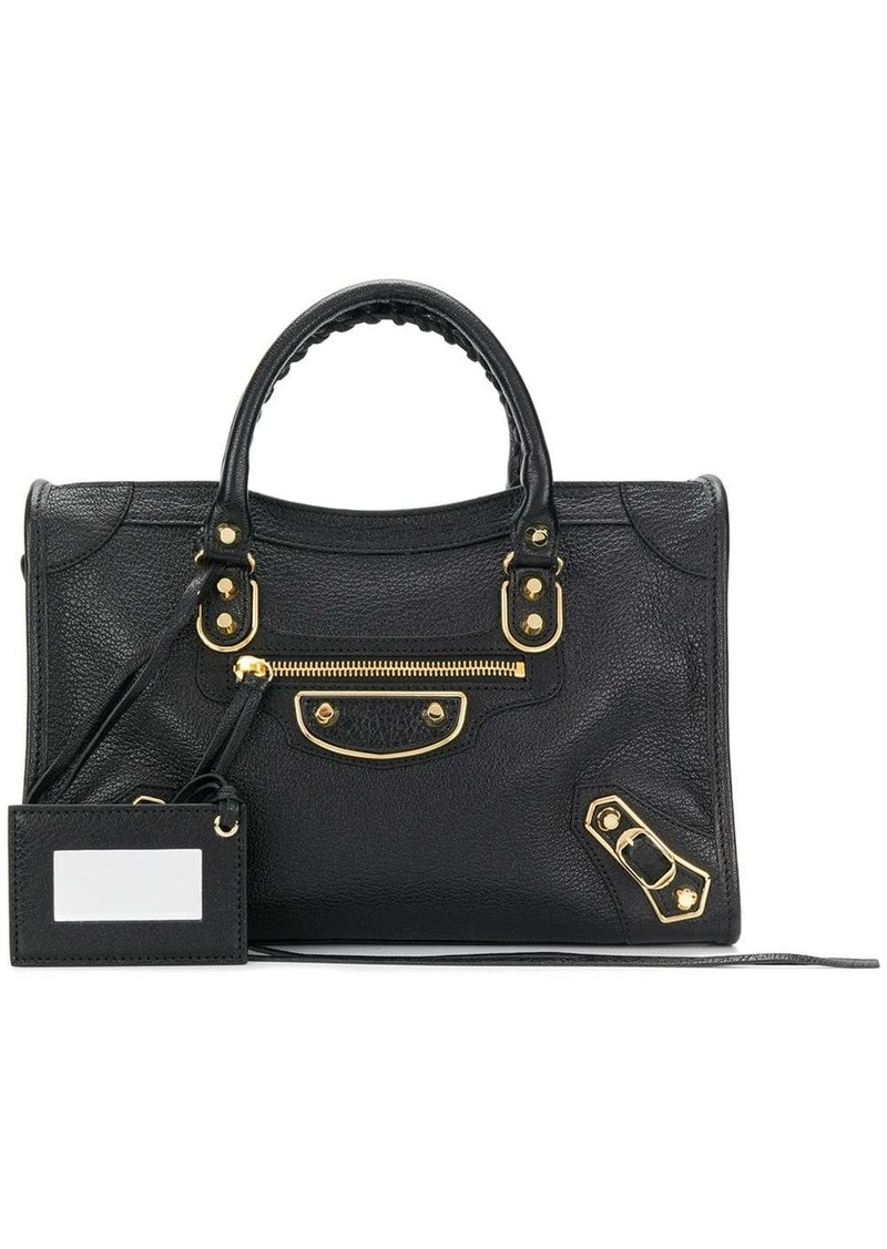 Balenciaga Metallic Edge Classic City S AJ bag