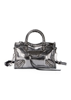 Balenciaga Metallic Nano City AJ Crossbody Bag