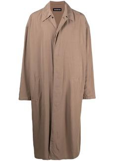 Balenciaga mid-length car coat