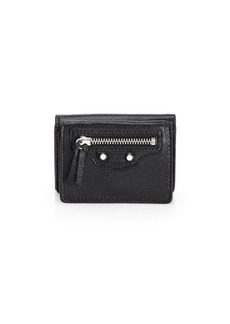 Balenciaga Mini Arena Classic Leather Wallet