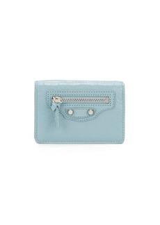 Balenciaga mini textured wallet