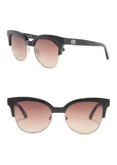Balenciaga Modified Squared 55mm Sunglasses