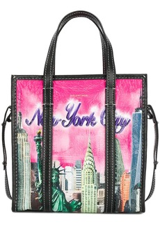 Balenciaga Multicoloured New York Bazar Shopper Small Tote Bag