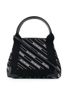 Balenciaga Navy Cabas XS bag