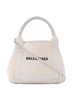 Balenciaga Navy Cabas XS tote bag