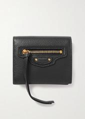 Balenciaga Neo Classic Textured-leather Wallet