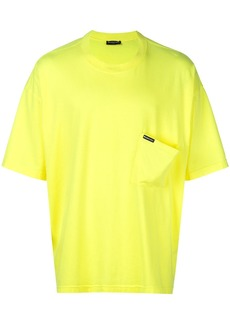 Balenciaga Neon Drop Pocket T-Shirt