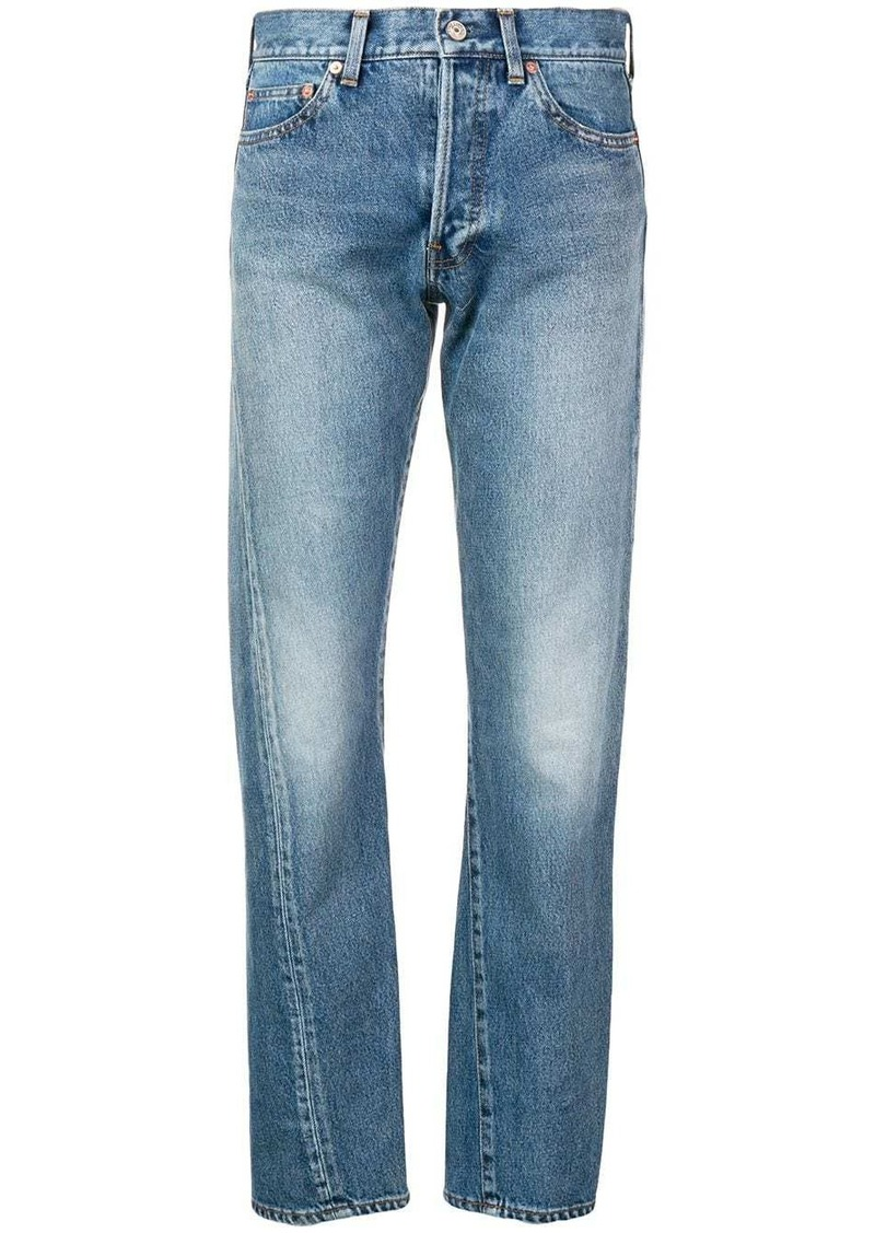 Balenciaga New Twisted Leg denim jeans
