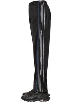 Balenciaga Nylon Tracksuit Pants W/logo Tape