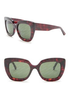 Balenciaga Oversized 52mm Sunglasses