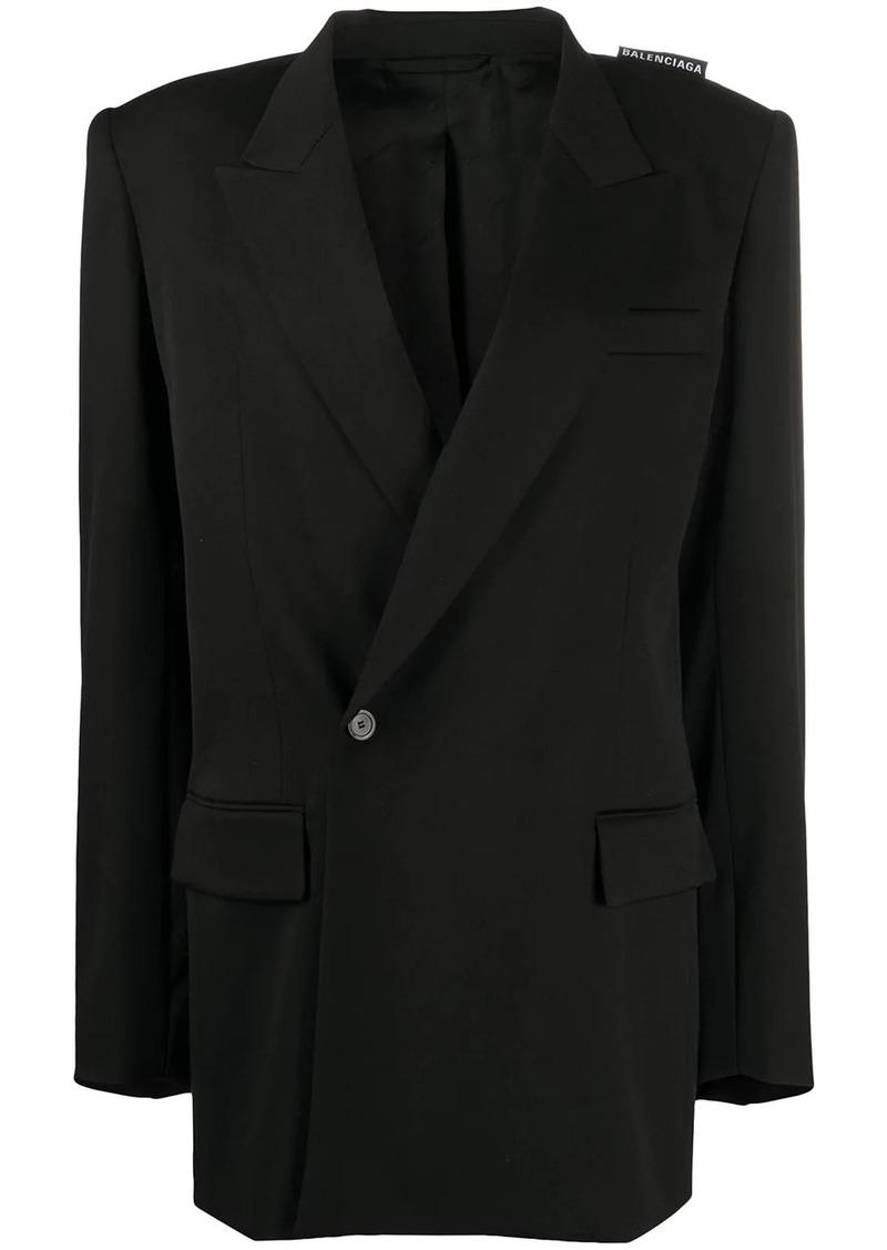 Balenciaga oversized 80s Shoulder blazer