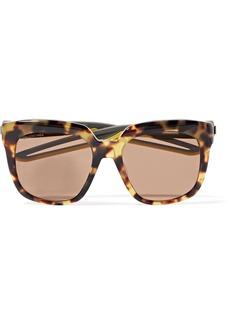 Balenciaga Hybrid Oversized Cat-eye Acetate Sunglasses