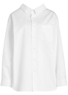 Balenciaga Oversized Cotton Shirt