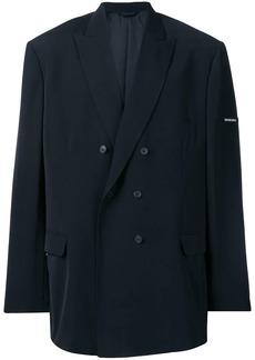 Balenciaga oversized double breasted blazer